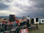 and another storm moves in ... this is the band Bad INtentions from Bozeman, they were great!