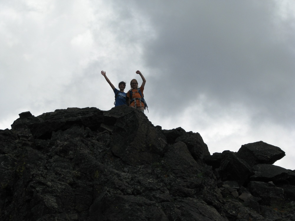 woop! bagged their first peak this summer